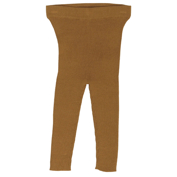 Grown Ribbed Essential Leggings - Marigold