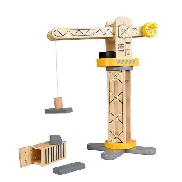 Egmont Wooden Crane With Magnetic Load