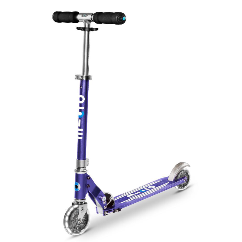 Micro Sprite Scooter - Blue Stripe LED