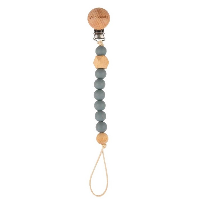 Emotion & Kids Dummy Chain - Charlie Dark Grey