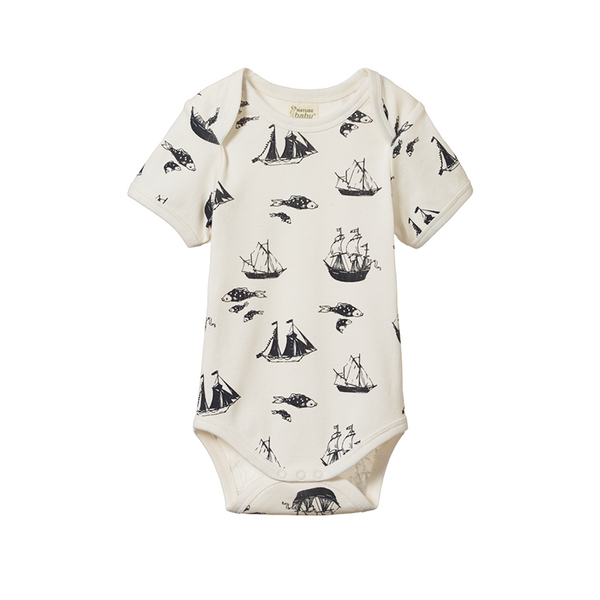 Nature Baby SS Bodysuit - Voyage