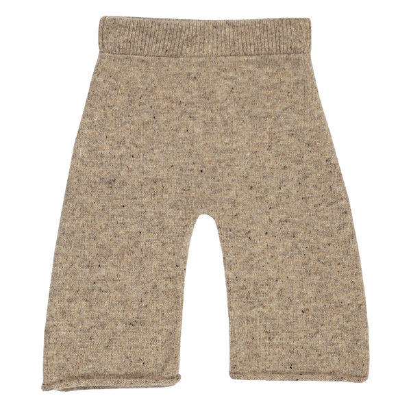 Grown Speckle Merino Pant - Stone