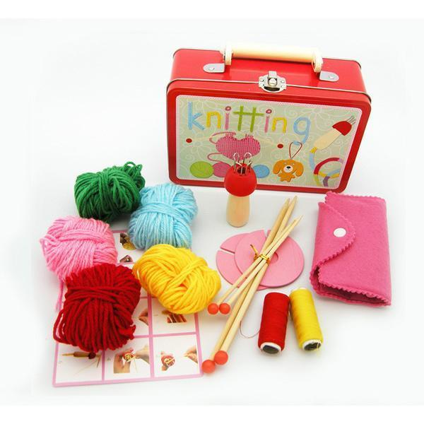 Knitting Kit in Tin