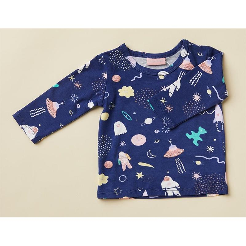 Halcyon Nights Long Sleeve Tee - Space Out