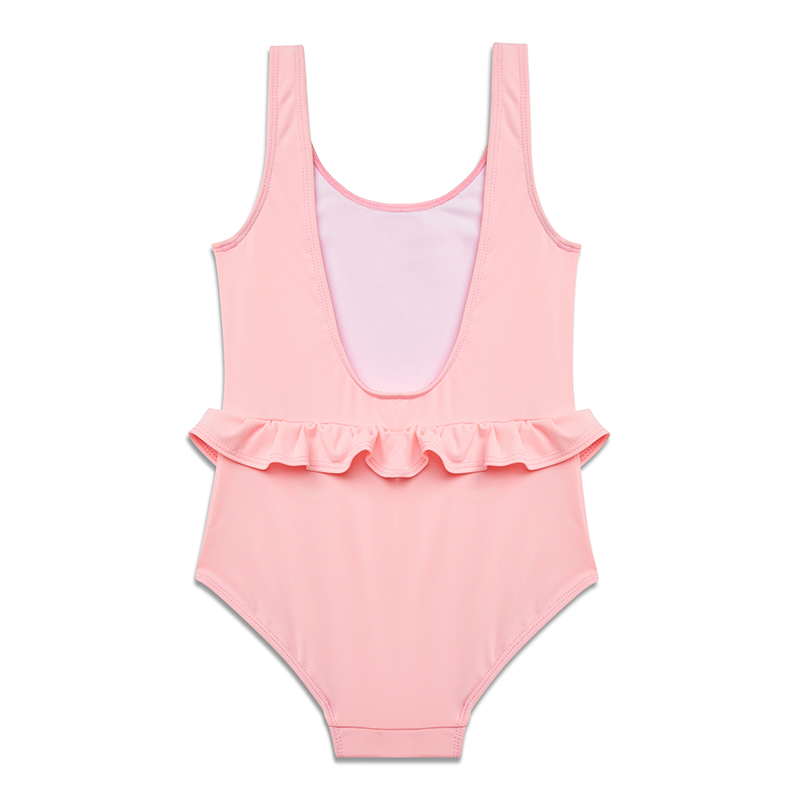 Yellow Jungle Anemone Swimsuit - Pink