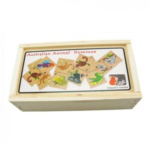 Australian Animal Domino Set - Shorties Childrens Store