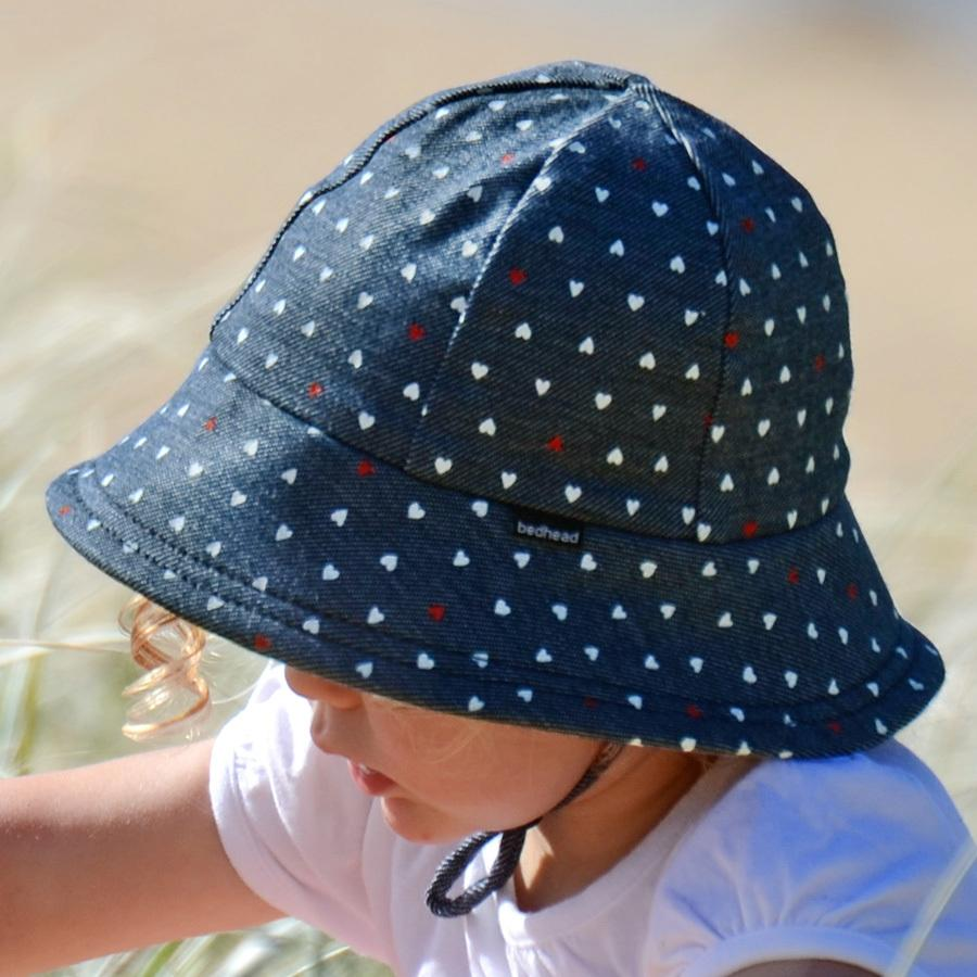 Bedhead Baby Bucket Hat - Hearts – Shorties Childrens Store e68b82ad05d9