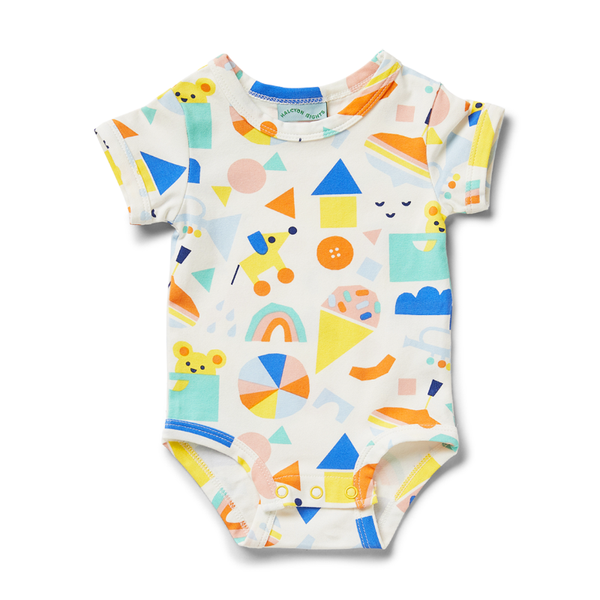 Halcyon Nights SS Bodysuit - Toy Box