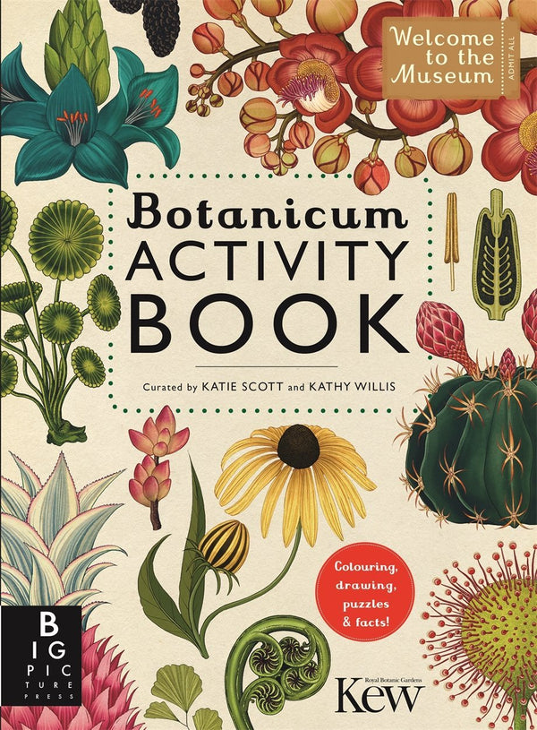 Botanicum Activity Book by Katie Scott and Kathy Willis