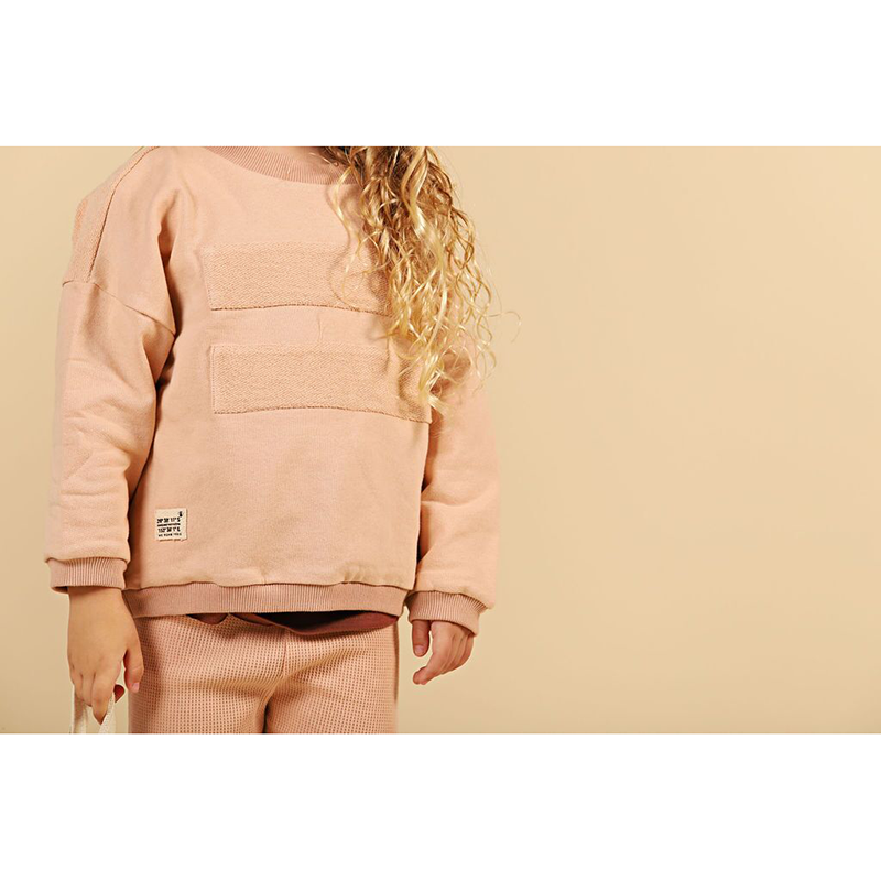 We Roam GPS Panel Jumper - Blush