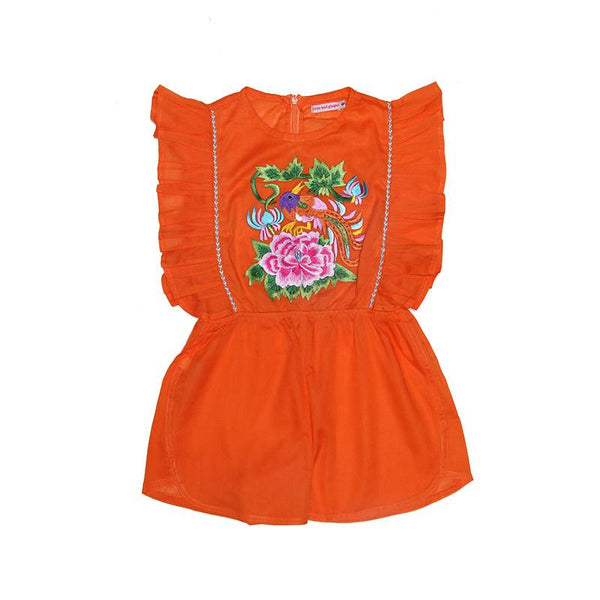 Coco & Ginger Delphine Playsuit - Marigold Embroidery