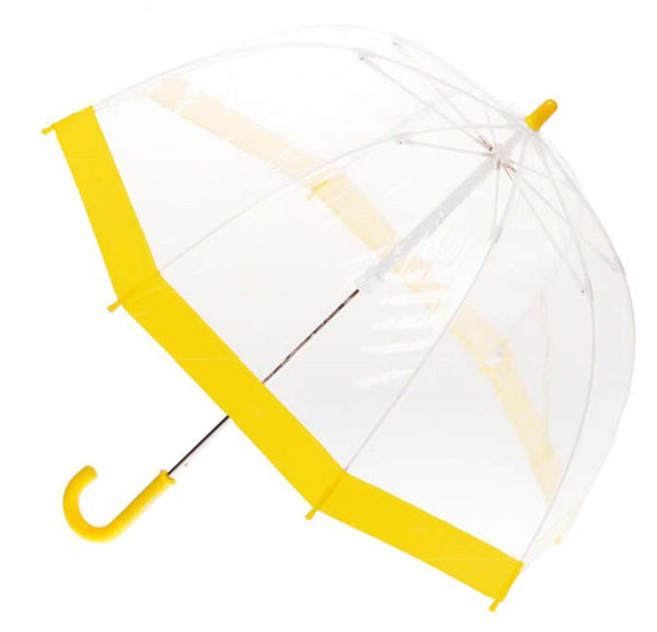 Cliftons Birdcage Umbrella - Yellow - Shorties Childrens Store