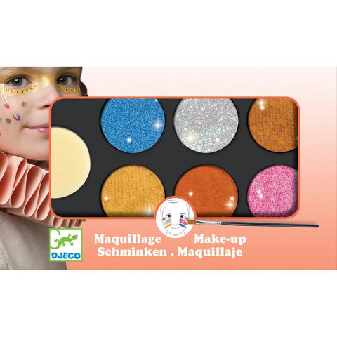 Palette 6 Colours - Metalic Body Art