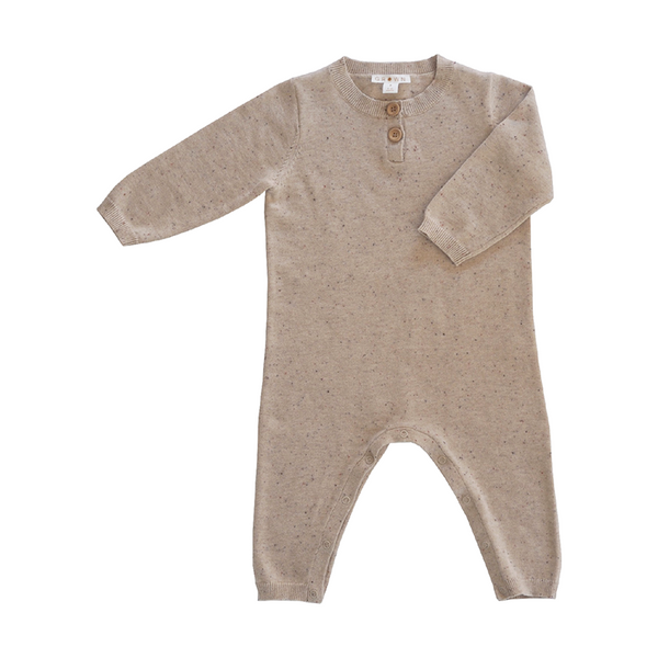 Grown Speckle Jumpsuit - Fawn