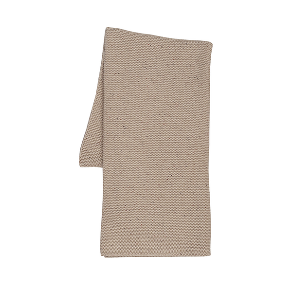 Grown Speckle Baby Blanket - Fawn