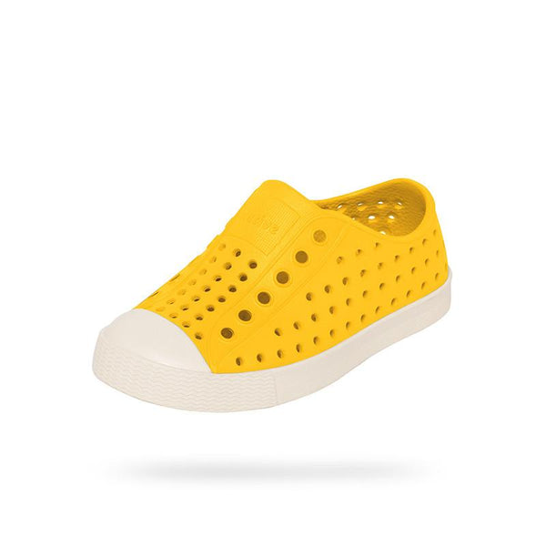 Native Jefferson Shoes - Crayon Yellow Cool kids shoes at A Cool kids shop