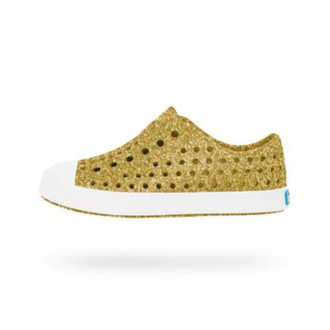 Native Jefferson Shoes - Gold Bling