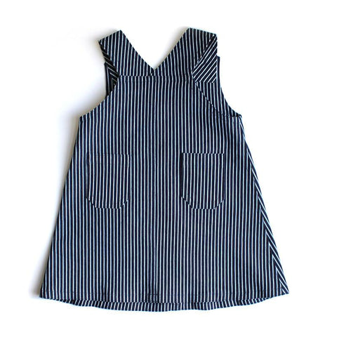 Denim Pinni - Stripe