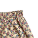 Shorties Floral Skirt - Beige With Pink Flowers