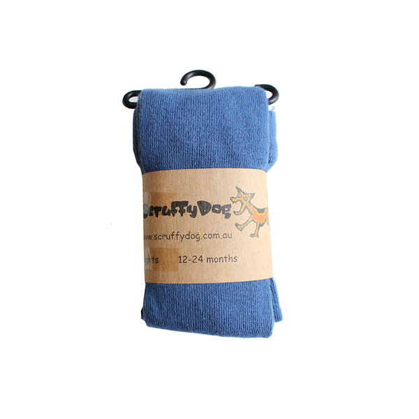 Scruffy Dog Tights - Blue