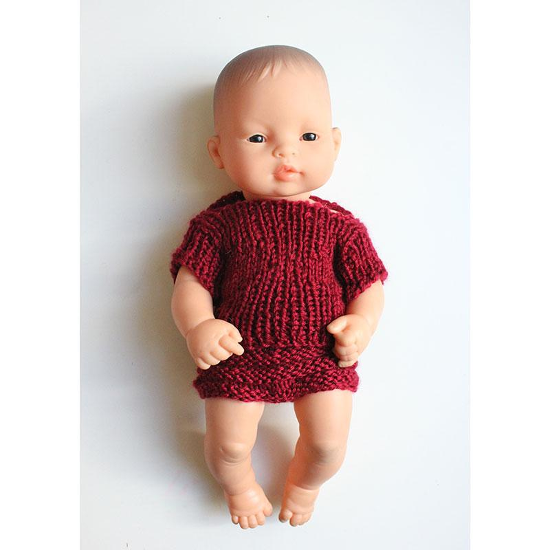 Dolls Jumper & Bottoms set