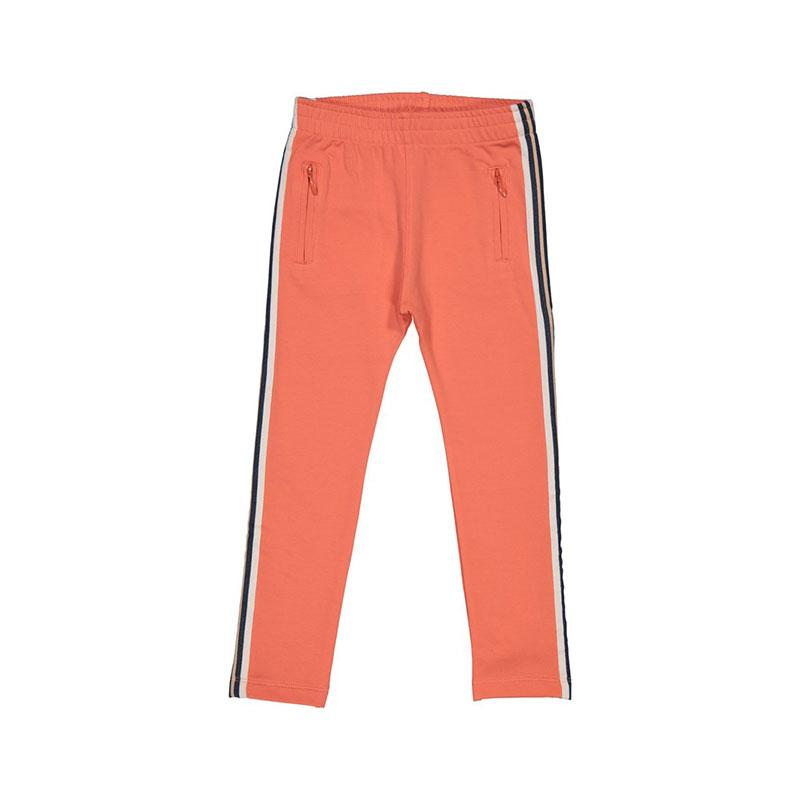 Kids Case Cody Organic Slim Pants - Coral