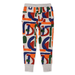 Minti Abstract Furry Trackies - Grey Marle