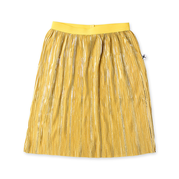 Minti Shimmer Skirt - Yellow/Silver