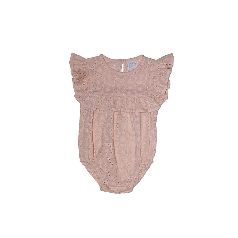 Alex and Ant Mia Frill Playsuit - Pink