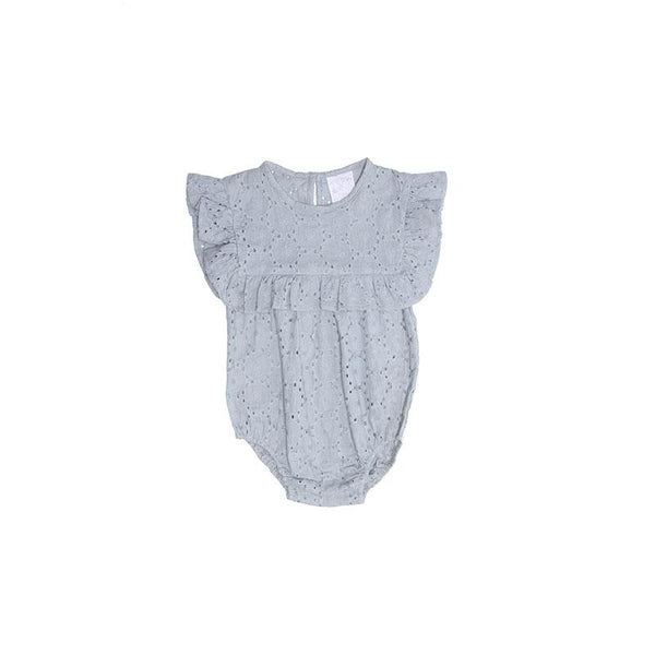 Alex and Ant Mia Frill Playsuit - Grey