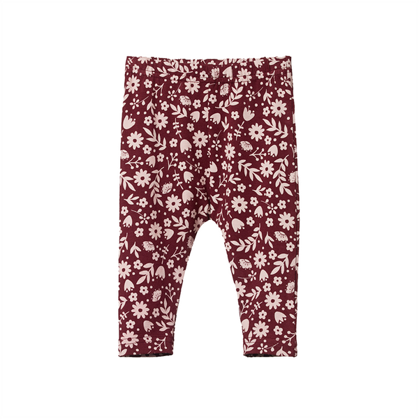 Nature Baby Leggings Baby - June's Garden Elderberry