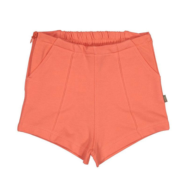 Kids Case Cody Organic Shorts - Coral
