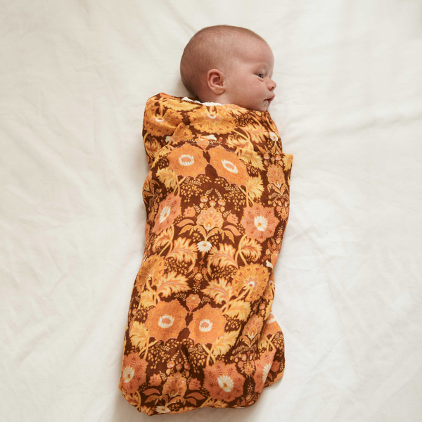 Banabae Bamboo/Org Cotton Swaddle - Arabella