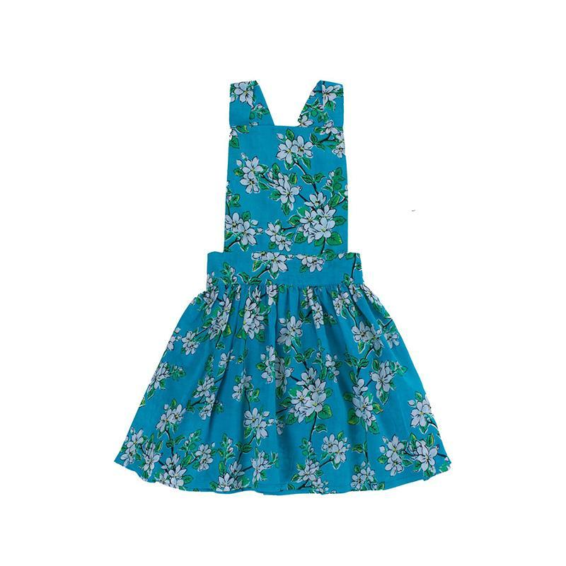 Pomme Pinafore - Sea Glass Blossom