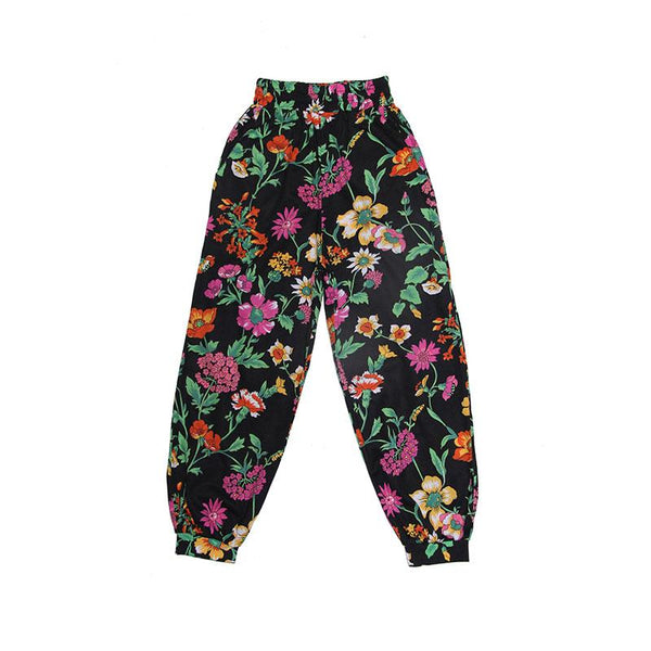 Coco & Ginger Agnes Pant - Midnight Fiore