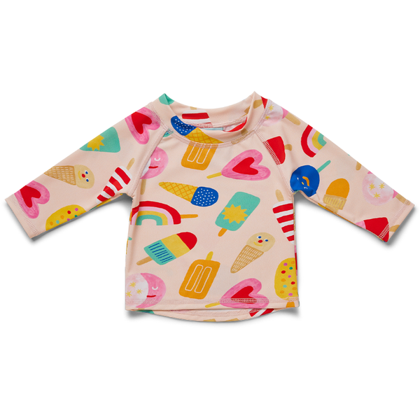 Halcyon Nights LS Rash Vest - Sweet Dreams