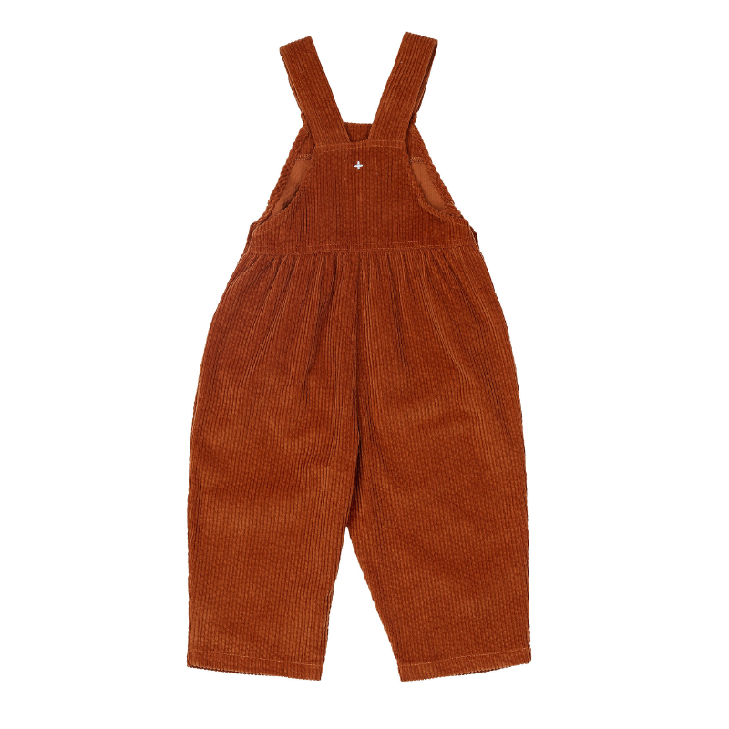Goldie & Ace Sammy Cord Overalls - Rust