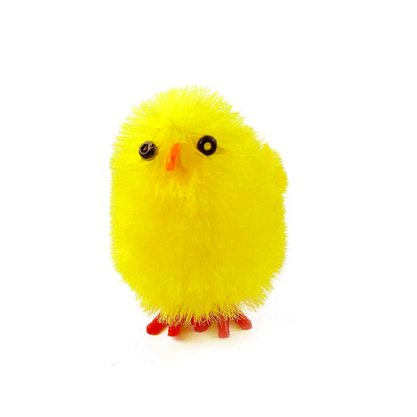 Yellow Chenille Chicks 4.5cm