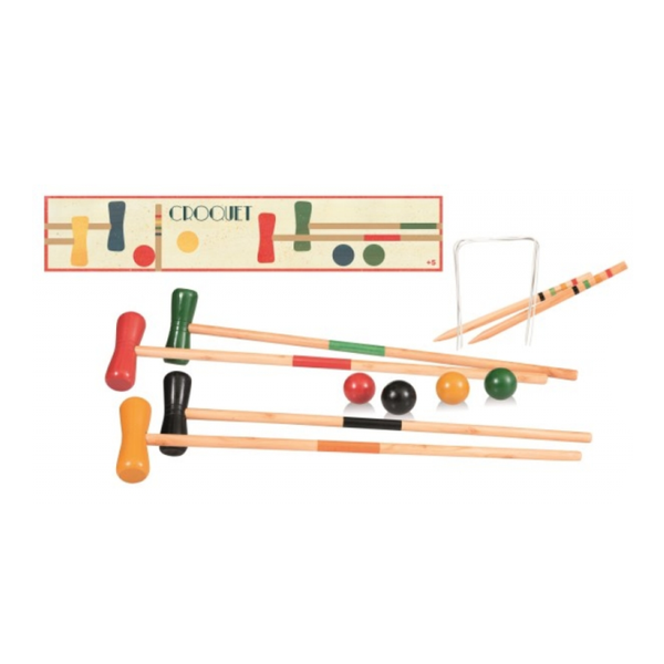 Egmont Croquet wooden play at Shorties