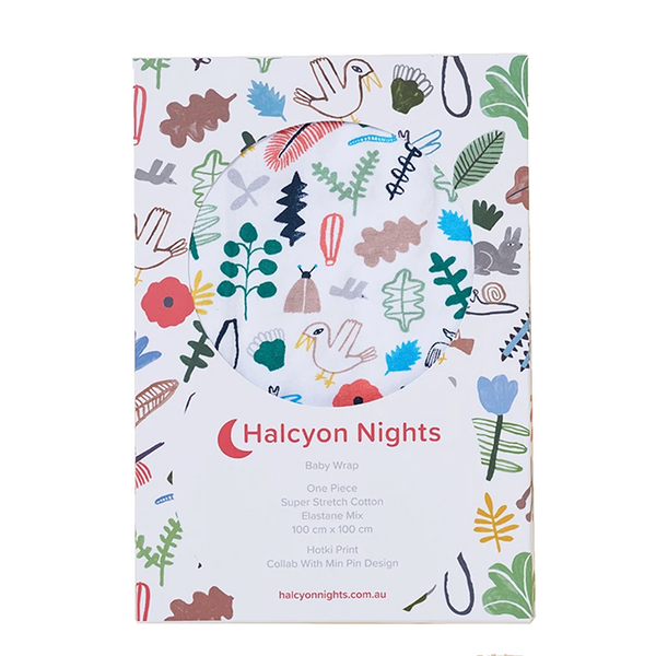 Halcyon Nights Baby Wrap - Hotki