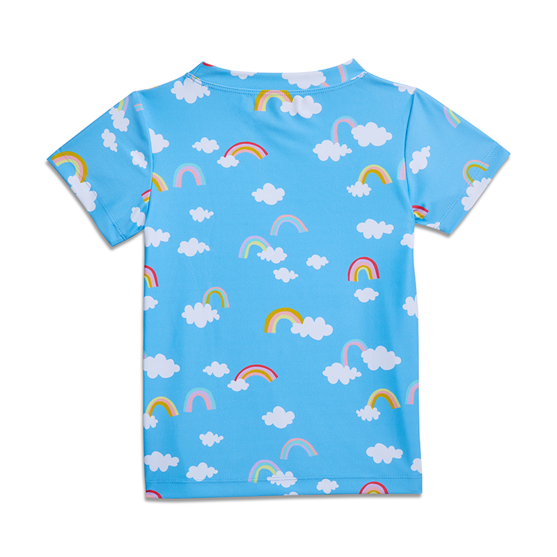Yellow Jungle Tropic T-shirt - Magic Rainbow