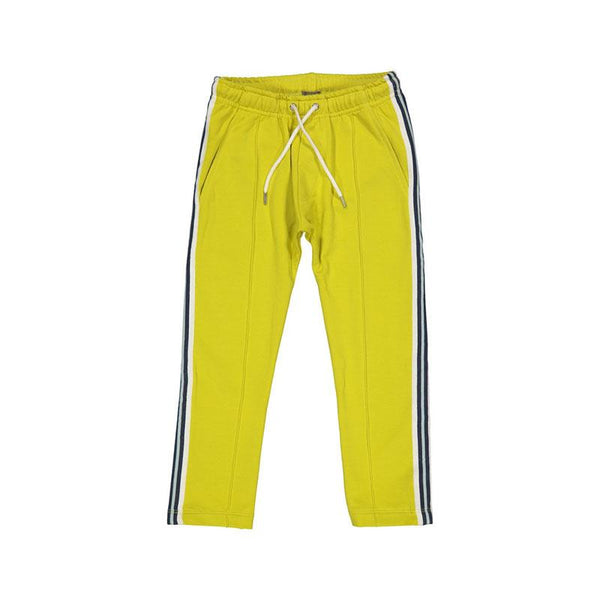Kids Case Cody Organic Sport Pants - Chartreuse