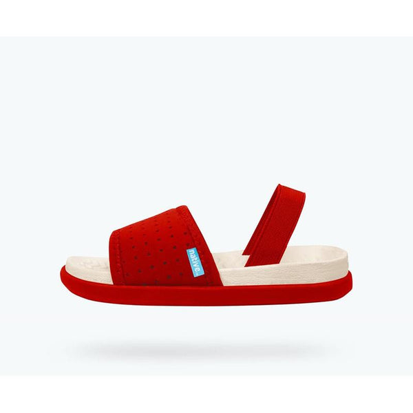 Native Penn Sandals - Red At Shorties kids Shop in Sydneys inner west