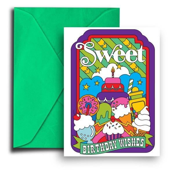 Draw Pilgrim Card - Sweet