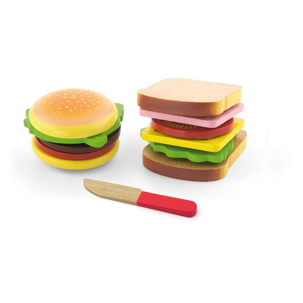 Hamburger & Sandwich Set