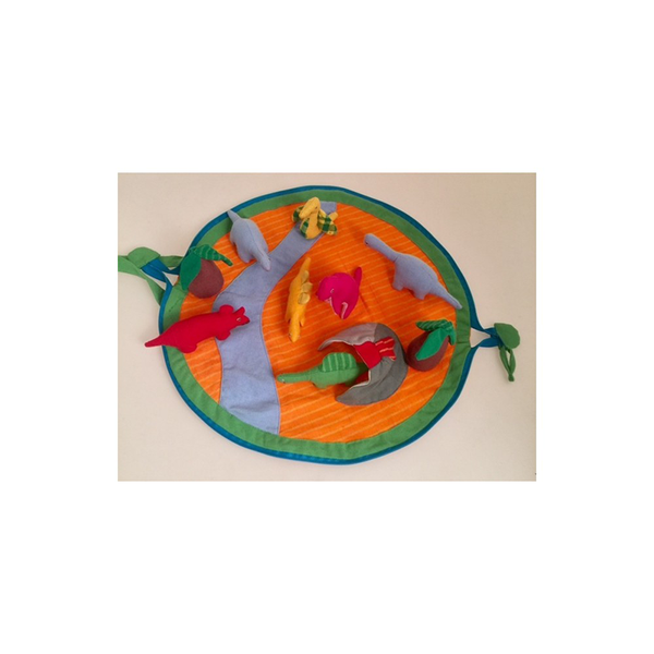 Dinosaur lovers Dino  soft play set with Dinosaurs, Play mat ethical