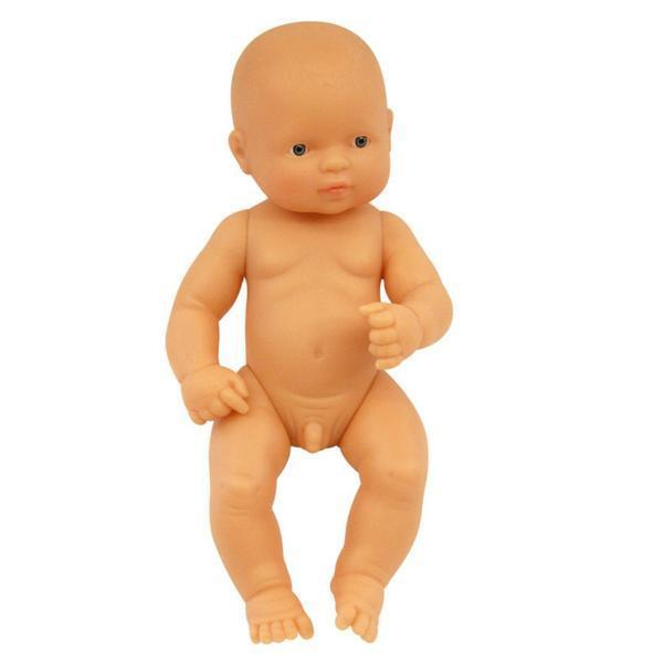 Miniland Anatomically Correct Doll - Small Caucasian Boy