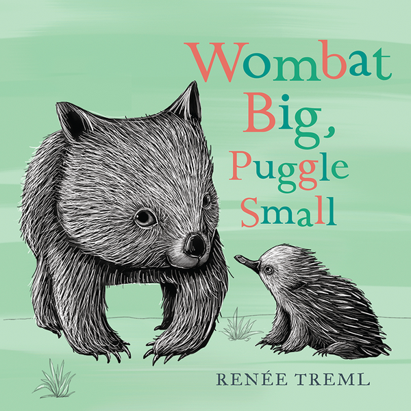 Wombat Big, Puggle Small (Board)