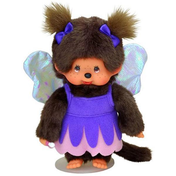 Monchhichi Doll - Purple Fairy Girl