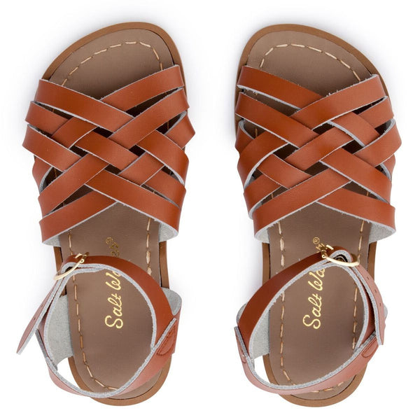 Saltwater Retro Sandals - Tan